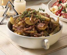 Batatas com Parma
