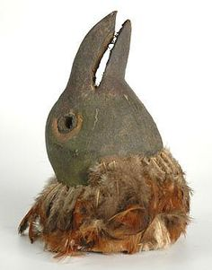 Tanzania Bird Mask circa 1950/60 from http://www.quintessentia.com