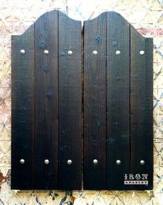 Exceptionnel Aged Western Saloon Doors, Swinging Bar Pub Ranch Vintage Wood. $379.00,  Via Etsy