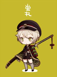 Kobe knife satisfied its の Yi Chibi Boy, Cute Anime Chibi, Kawaii Chibi, Anime Kawaii, Magical Girl Raising Project, Manga Anime, Anime Art, Best Anime Drawings, Susanoo