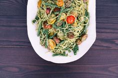 Well, so much for summer being over! It's been extra-hot and sunny this week in NYC, so I've got the A.C. on, and am trying to savor all my favorite summery foods – like this lemony pesto spaghetti – for … Continue reading →
