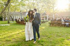 Flower Child: Pamela Love's Wedding in Montauk - Vogue