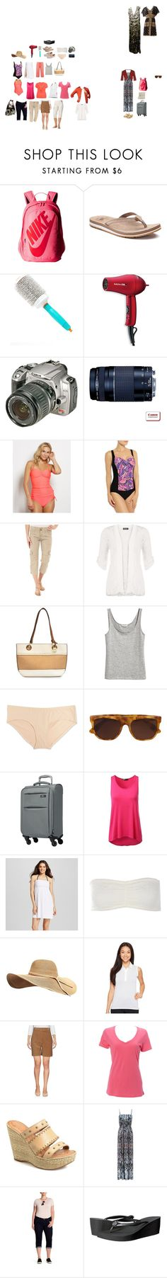 """""""Vegas September 2017 packing list"""" by donovan-heather on Polyvore featuring NIKE, New Balance, Moroccanoil, BaByliss Pro, Sanctuary, WearAll, Nicole Miller, Motherhood Maternity, RetroSuperFuture and Skyway"""