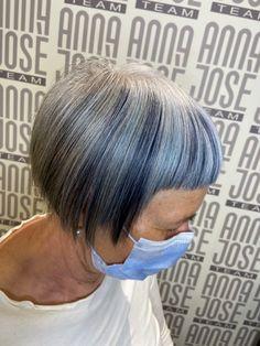 Dark blue Fantasy Hair Color, Dark Blue, Anna, Deep Blue