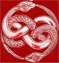 """The Ouroboros (""""tail-devourer"""") is an ancient symbol depicting a serpent or dragon swallowing its own tail and forming a circle. Trendy Tattoos, New Tattoos, Cool Tattoos, Tatoos, Viking Designs, Celtic Designs, Celtic Symbols, Celtic Art, Celtic Knots"""
