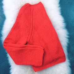 Tamarind - Blog Apiece apart cropped red sweater
