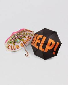 Must Have! First Sgt. Peppers then HELP!  London Undercover Beatles Umbrella  Bloomingdale's