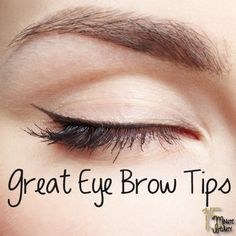 Pin now and read later: Quick and Easy Tips for Amazing Eye Brows