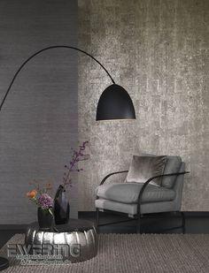 23-vista-5-02 Glanz und Glamour verbreitet die beige-graue Kork-Tapete.