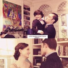 Blair and Chuck and Henry Bass