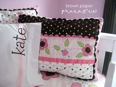 personalized pillowcases...