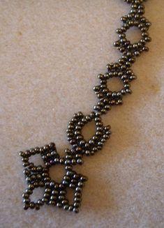 Atelier dentelle : motif de la chaîne/Lace Workshop : chain motif/Мастерская : мотив цепочки