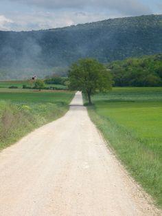 . . . lunga e diritta correa la strada . . .