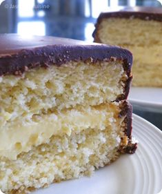Cake Recipes, Dessert Recipes, Boston Cream Pie, Mini Cheesecakes, Vanilla Cake, Nutella, Biscuits, Muffins, Food Photography