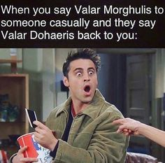 Game of Thrones - Valar Morghulis