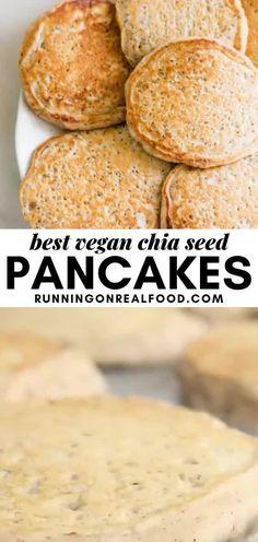 Vegan Vegetarian, Vegetarian Recipes, Cooking Recipes, Healthy Recipes, Chia Recipe, Recipes With Soup Mix, Recipes With Chia Seeds, Chia Seed Recipes Vegan, Vegan Breakfast Recipes