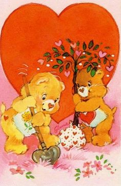 Happy Valentine's Day - Care Bears