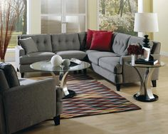 Palliser Barbara Transitional Sectional Sofa with LHF Loveseat - Wayside Furniture - Sofa Sectional Akron, Cleveland, Canton, Medina, Youngstown, Ohio