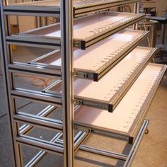 Exquisite aluminium profile for household shoe rack's materials or aluminum alloy profile table.