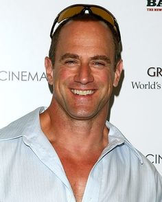 Christopher Meloni aka detective Elliot stabler on law and order:SVU :) my fave show