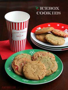Icebox Cookies | A Sweet Baker