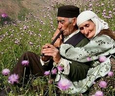 Beautiful… I love this picture… True love never dies, it only gets stronger with time.