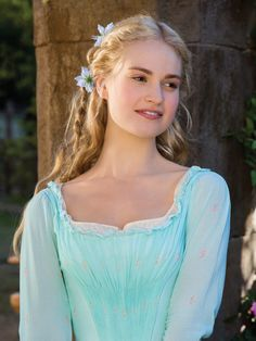 Cinderella --Lily James as Ella-- beautiful hair and costumes in this gorgeous movie Cinderella 2015, Cinderella Movie, Cinderella Pictures, Cinderella Live Action, Cinderella Quotes, Cinderella Outfit, Cinderella Costume, Disney Live, Walt Disney
