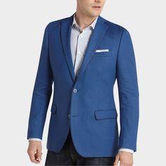 Tallia Royal Blue Slim Fit Sport Coat | Men's Wearhouse