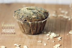 The Vanilla Bean Blog | banana coffee muffins with cacao nibs and oatmeal Sounds yummy!