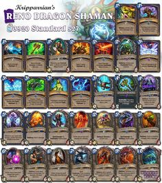 While not the best Shaman deck this is definately one of my favorites at the moment! Have you been playing Control Shaman yet? #Hearthstone