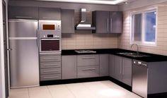 décoration cuisine moderne marocaine Kitchen Room Design, Modern Kitchen Cabinets, Kitchen Cabinet Design, Modern Kitchen Design, Home Decor Kitchen, Interior Design Kitchen, Home Kitchens, Kitchen Island Placement, Contemporary Kitchen Inspiration