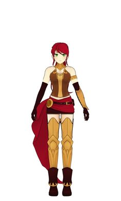 RWBY - Pyrrha Nikos Turnaround by jkphantom9