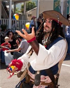 Swashbucklers of all ages will converge on Tybee Island, Georgia, for the 8th Annual Tybee Island Pirate Festival on October 4-7, 2012.