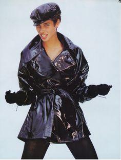 Christy Turlington in Alaia, 1990
