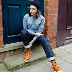 Style blog exclusively for tomboys. Redwing Boots Women d1c2e28abf