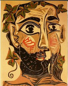 Bearded Man by Pablo Picasso 1962