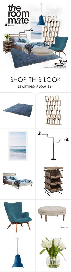 """""""the room mate..."""" by ian-giw ❤ liked on Polyvore featuring interior, interiors, interior design, home, home decor, interior decorating, Pottery Barn, La Lampe Gras, Inspire Q and Anglepoise"""