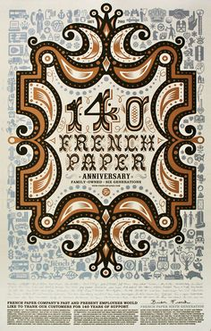Ornamented - French Paper Anniversary