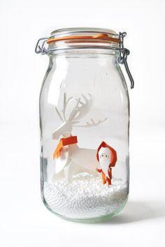 036083a7e68 Le Parfait winter decoration Do-It-Yourself Ideas Recycled Glass