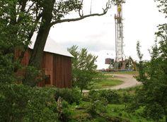 fracking near residences