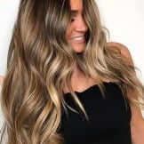 60 Best Ideas of Brunette Balayage Highlights for Long Hair 2018