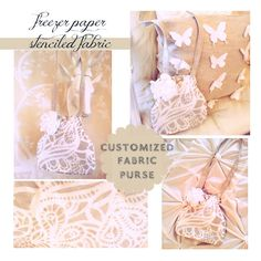 ..Twigg studios: design your own fabric with a freezer paper stencil plus purse tutorial
