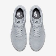 half off 0f311 0d314 Nike Air Max 1 Ultra 2.0 Essential Mens Wolf Grey Pure Platinum Dark Grey  Wolf Grey