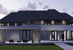 House Cladding, Best Modern House Design, Villa, Modern Farmhouse Exterior, Modern Cottage, Steel Buildings, Building Design, My Dream Home, Home Deco