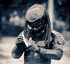 Predator Helmet, I got to get this Helmet Predator Helmet, Predator 1, Mv Agusta Dragster, Futuristic Armour, Alien Vs, Super Bikes, Bike Accessories, Motorcycle Helmets, Custom Motorcycles