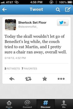 Sherlock BBC... Sounds like a great day to me