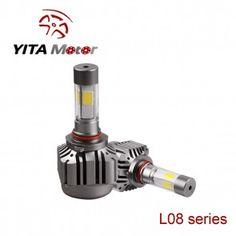 L08-Yita 120W Cob 4-Side 6000K LED Headlight Replacement Bulbs