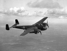 SAAB B-18 in flight