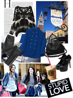 """classy in the city!"" by isabelss ❤ liked on Polyvore"