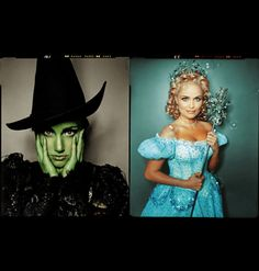 """""""Wicked"""" Idina Menzel  Kristin Chenoweth"""